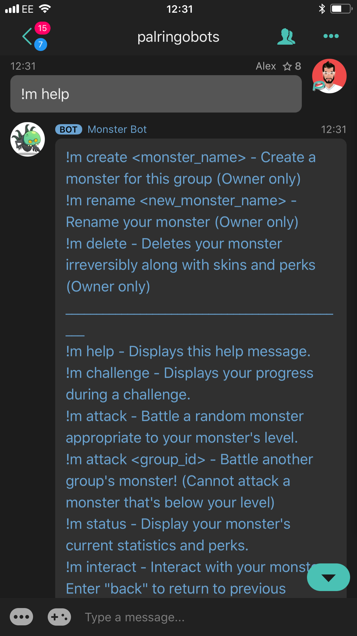 Monster Bot