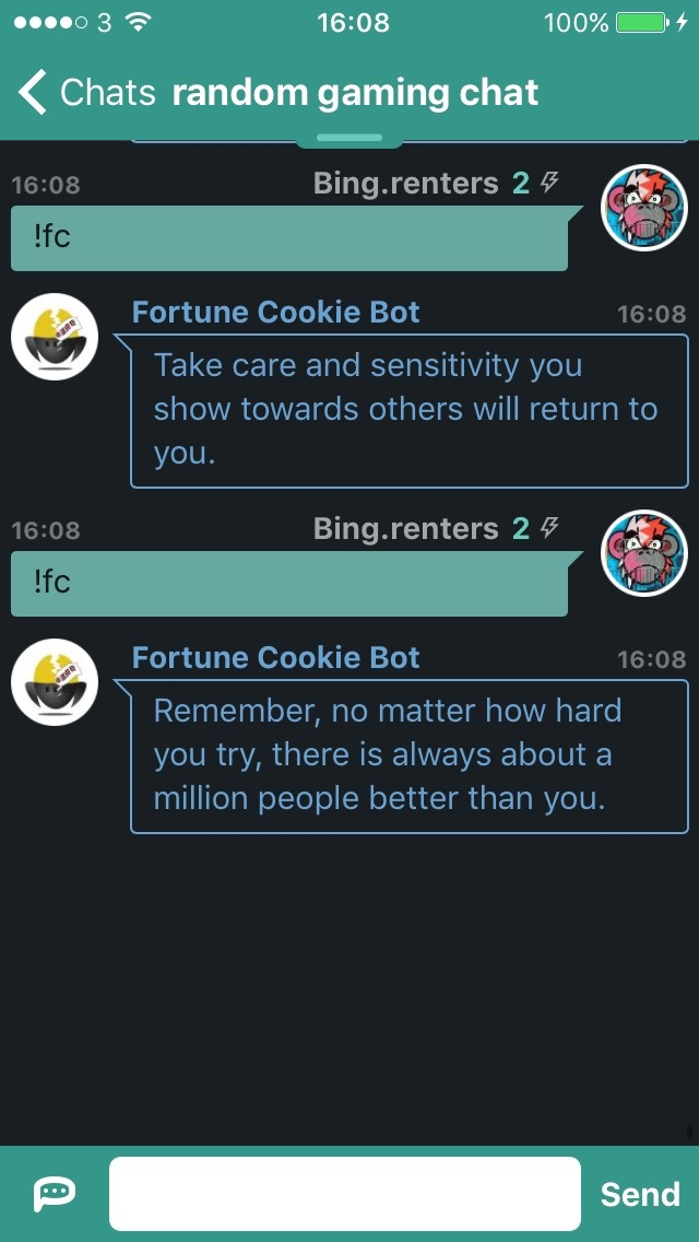 Fortune Cookie Bot